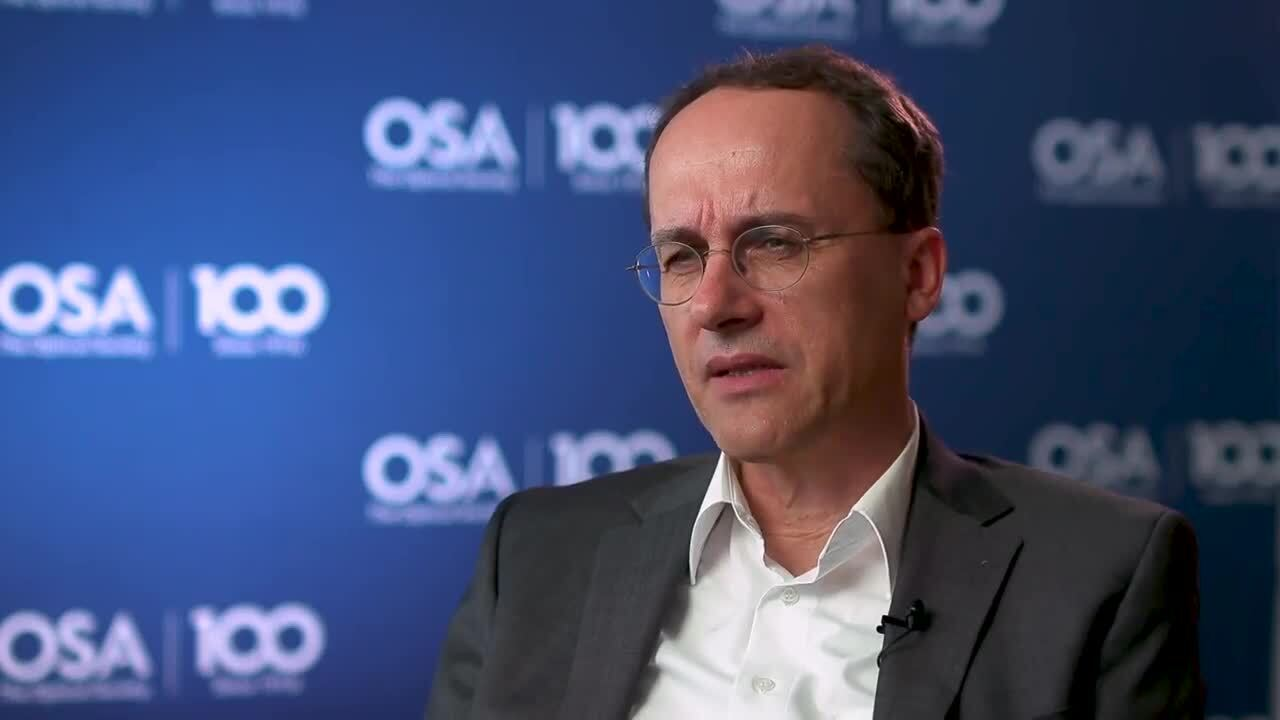 Andreas Thoss shares how he decided on optics--OSA Stories