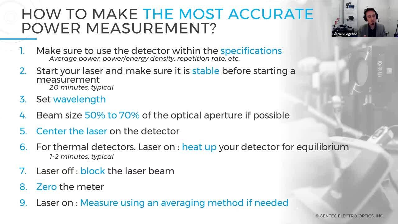 How to Monitor Laser System Performance With Power Measurement