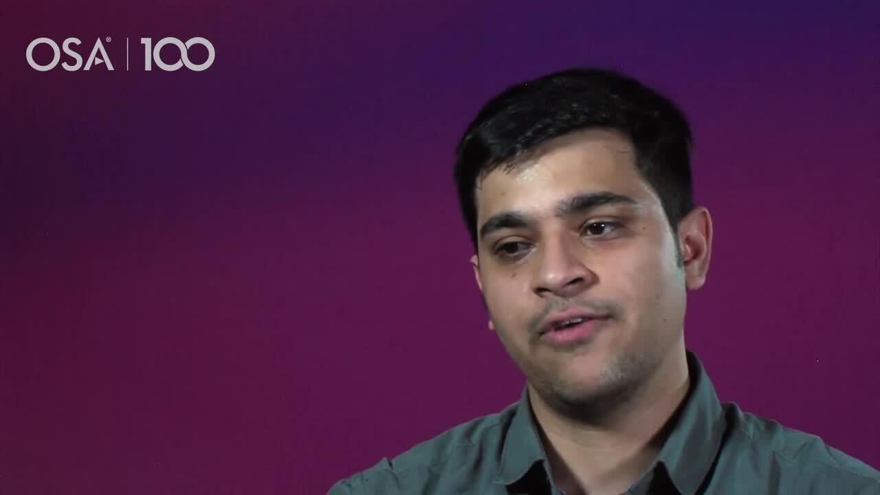 Nishant Sachdeva shares what he gained from attending OSA's Career Accelerator Program--OSA Stories