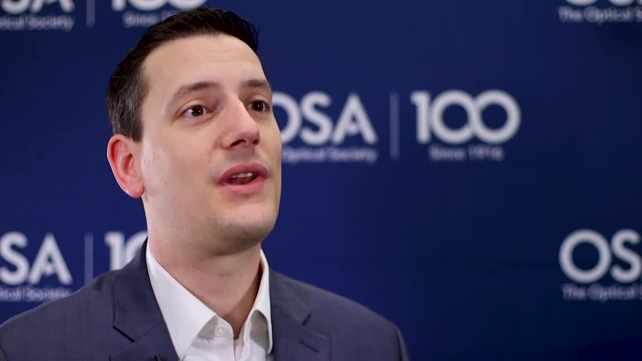 Daniel Christensen discusses his goals as an OSA Ambassador--OSA Stories