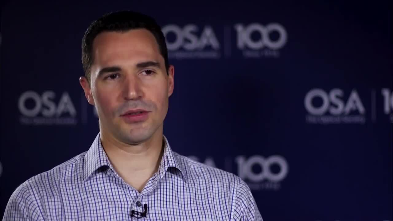 Fabien Sorin shares why he went into optics--OSA Stories