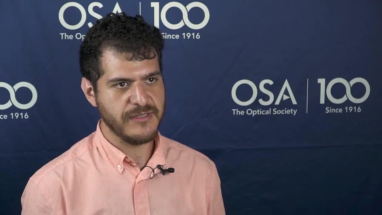 José Agustín Moreno-Larios discusses being an OSA member--OSA Stories