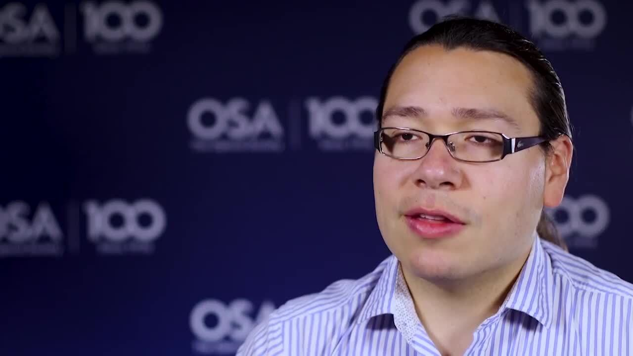 Alfonso Isaac Jaimes Najera discusses the importance of mentorship--OSA Stories