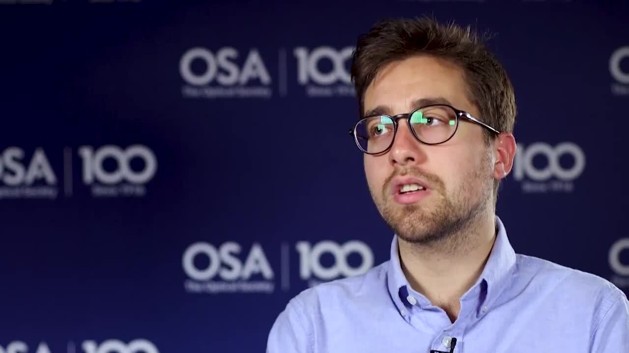 Andrea Cordaro talks about the impact of mentors--OSA Stories