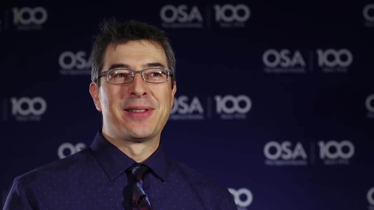 Michel Olivier talks about mentors--OSA Stories