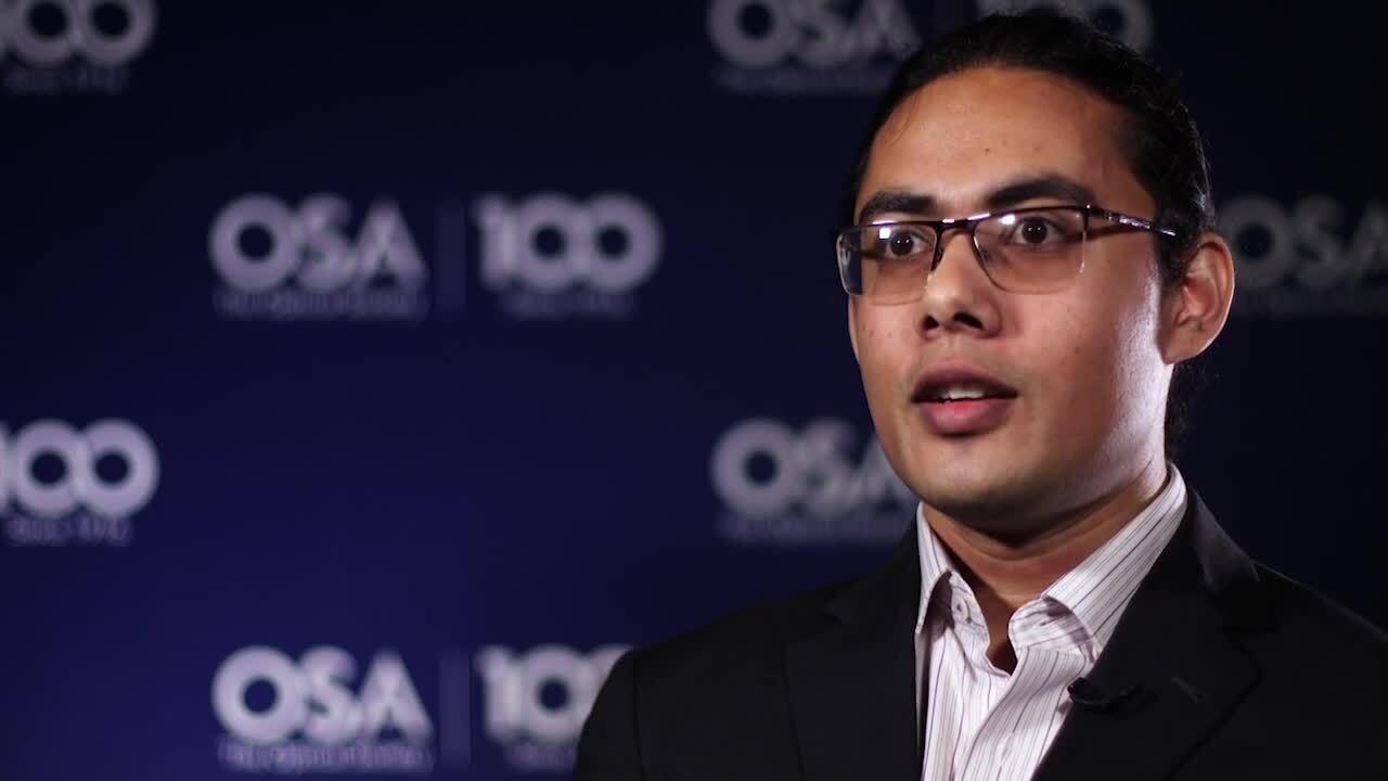 Aveek Dutta talks about mentors--OSA Stories