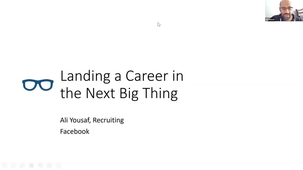 Landing and Nurturing a Career in the Next Big Thing