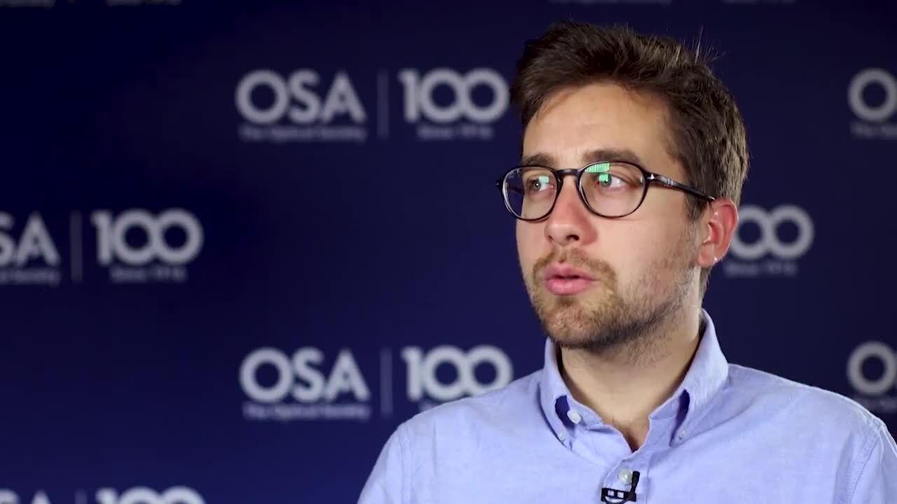 Andrea Cordaro credits his first mentor as inspiring him to pursuing photonics--OSA Stories