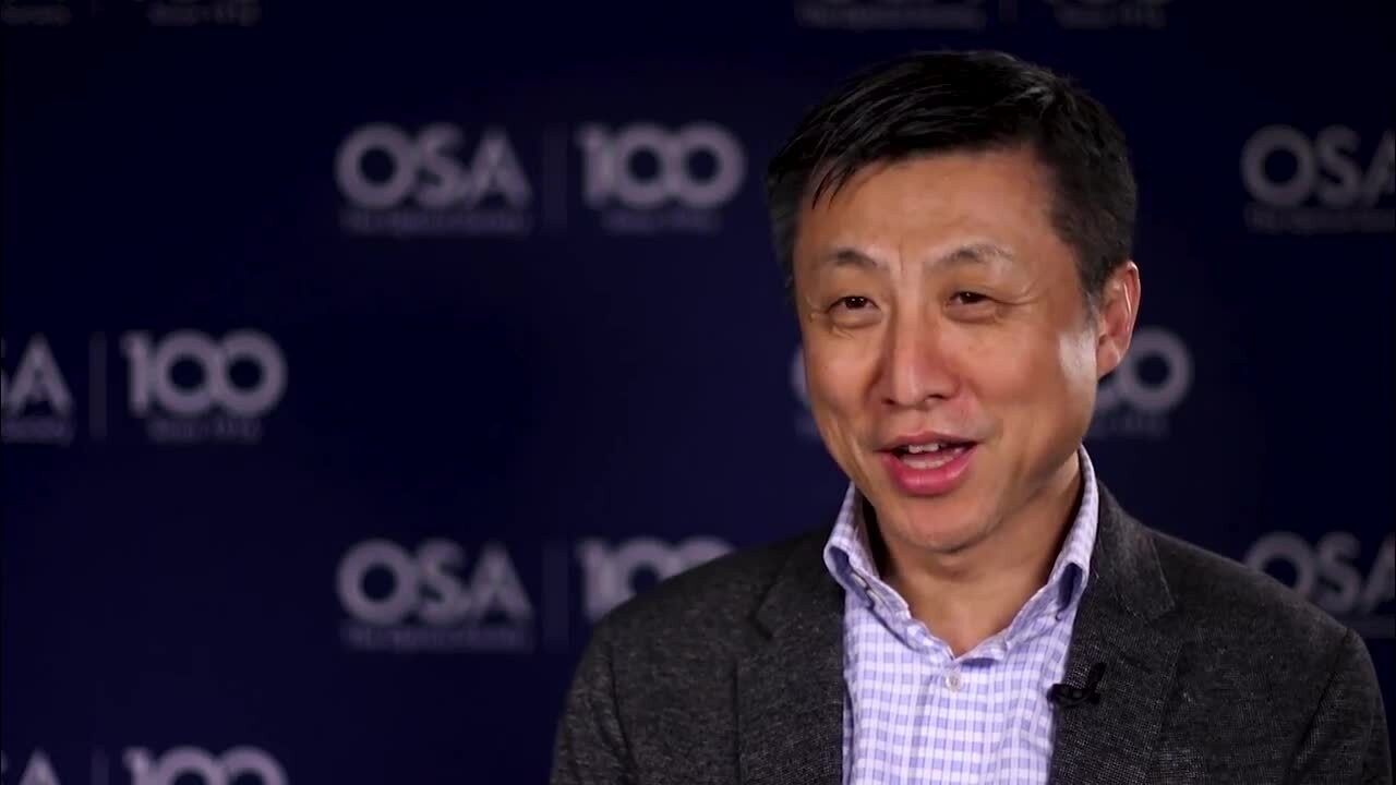 Chao Lu excitement discusses data centers--OSA Stories