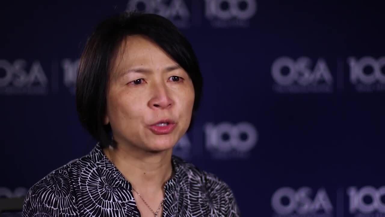 Shan Wey recalls a meeting with 1993 OSA President Elsa Garmire--OSA Stories
