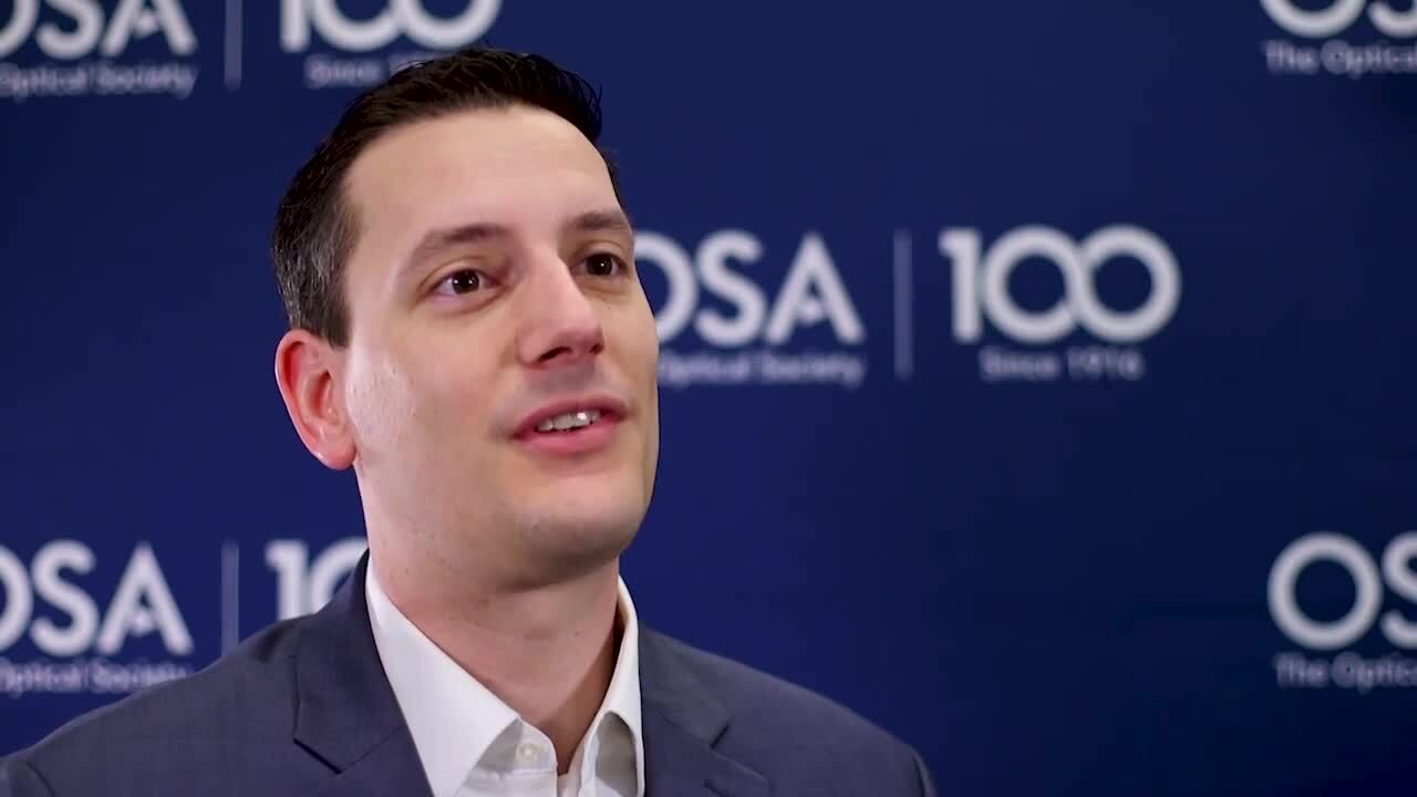 Daniel Christensen shares the story of when he knew he wanted to work in optics--OSA Stories