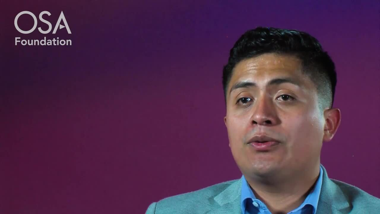 Juan Carlos Alvarado Zacarias talks about OSA's Career Accelerator--OSA Stories