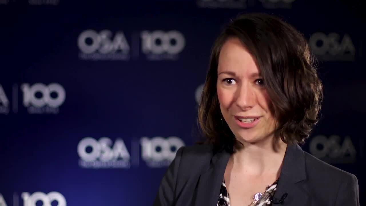 Elizabeth Lee Radue discusses the importance of mentors--OSA Stories