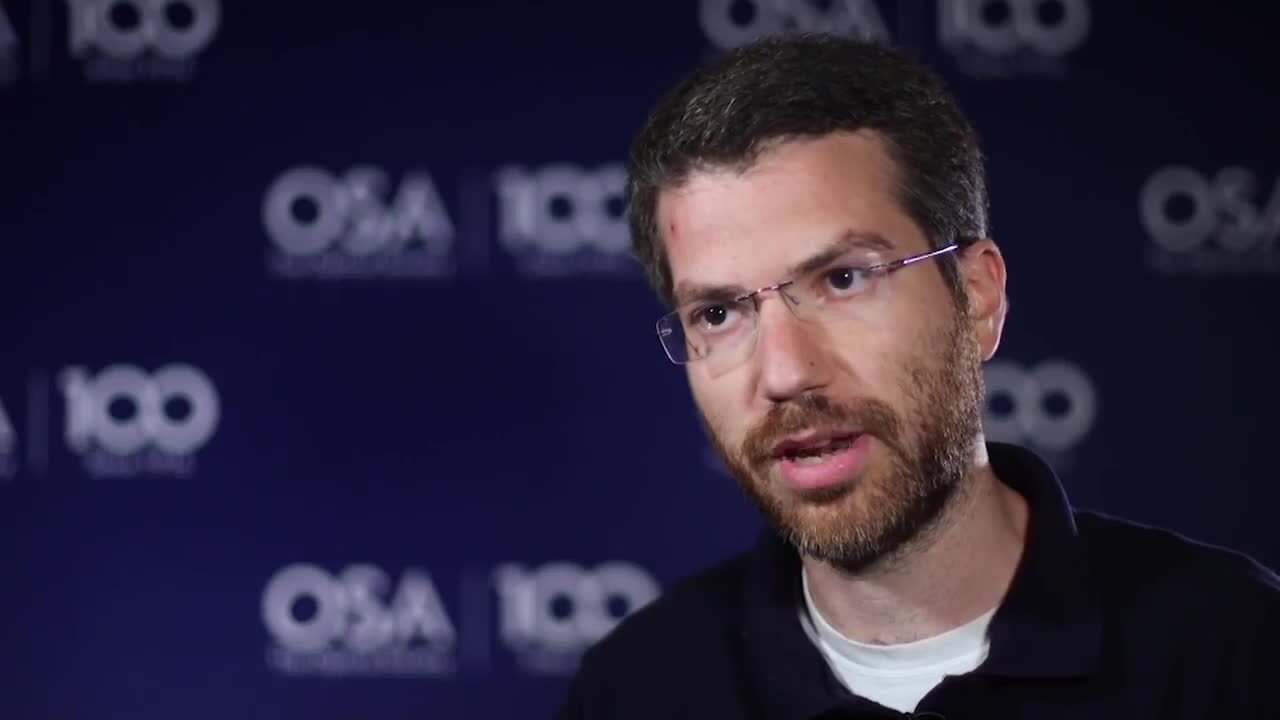 Shay Elmalem discusses his work in Imaging--OSA Stories