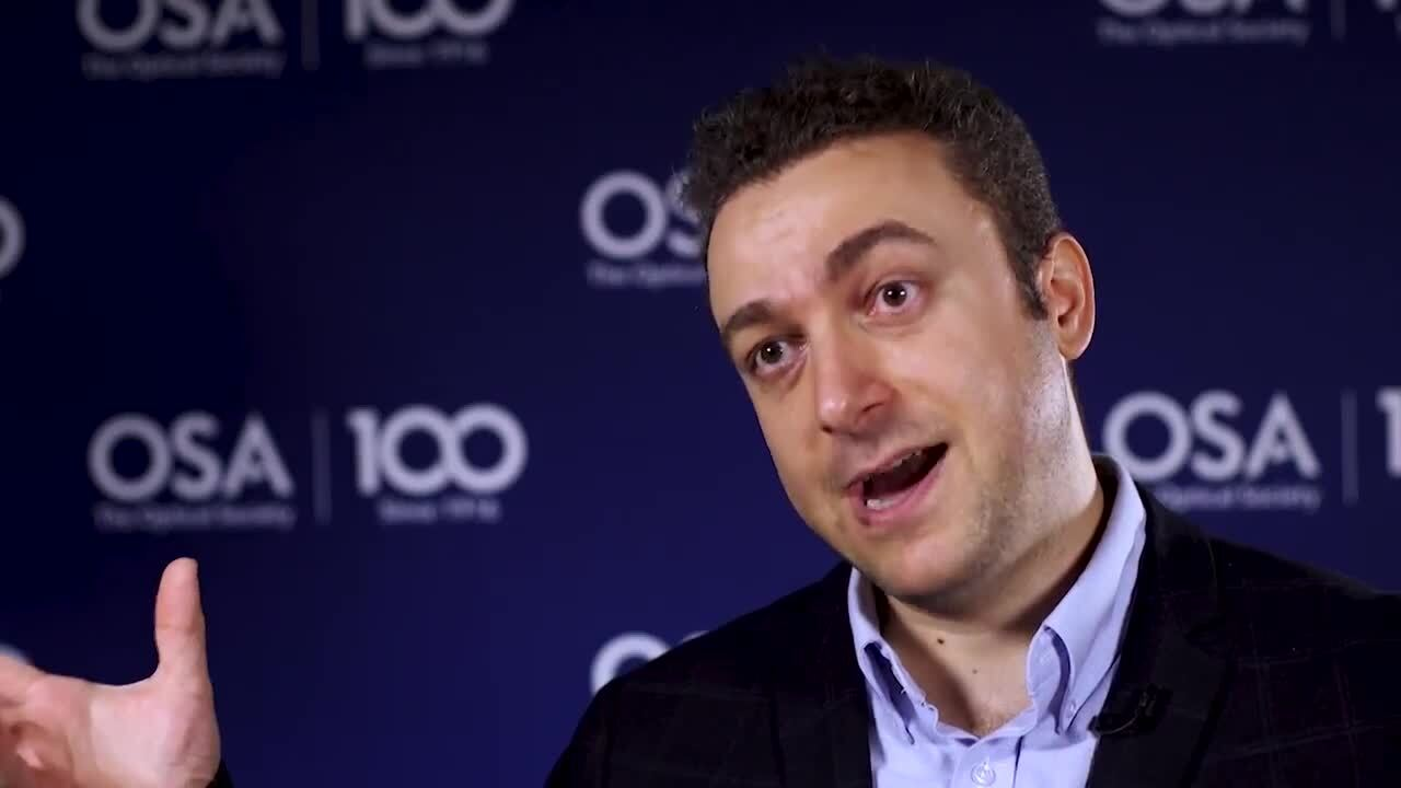 Aydogan Ozcan is inspired the applications that optics has on transforming our lives--OSA Stories