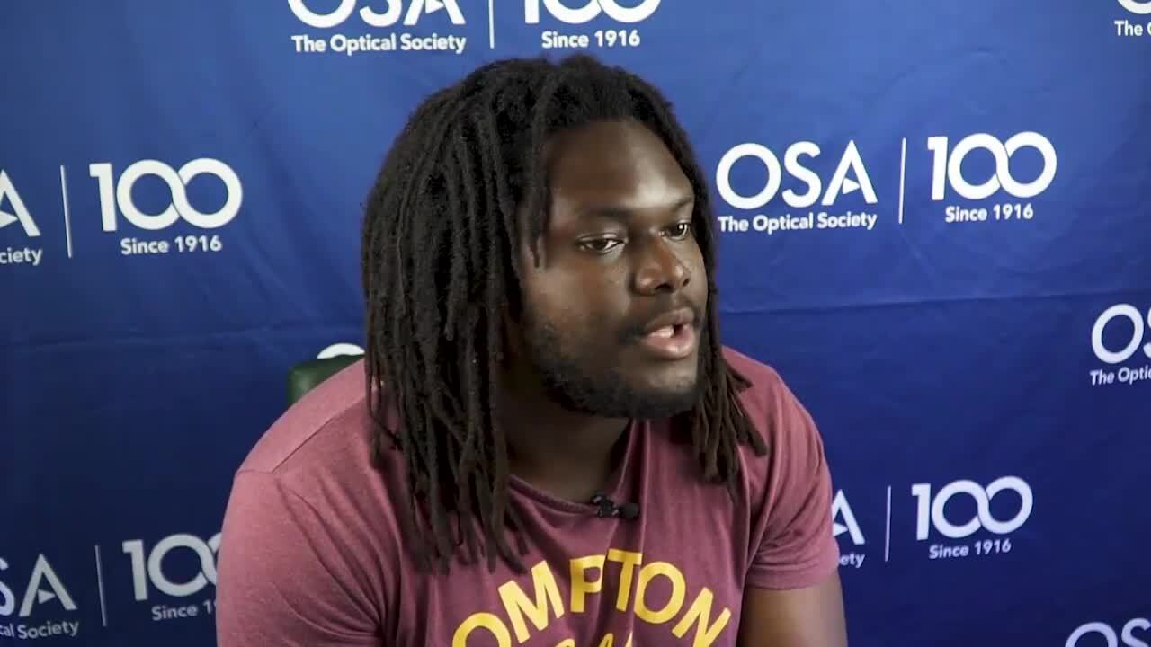 Oyewole Efunbajo talks about why students should apply for Siegman School--OSA Stories
