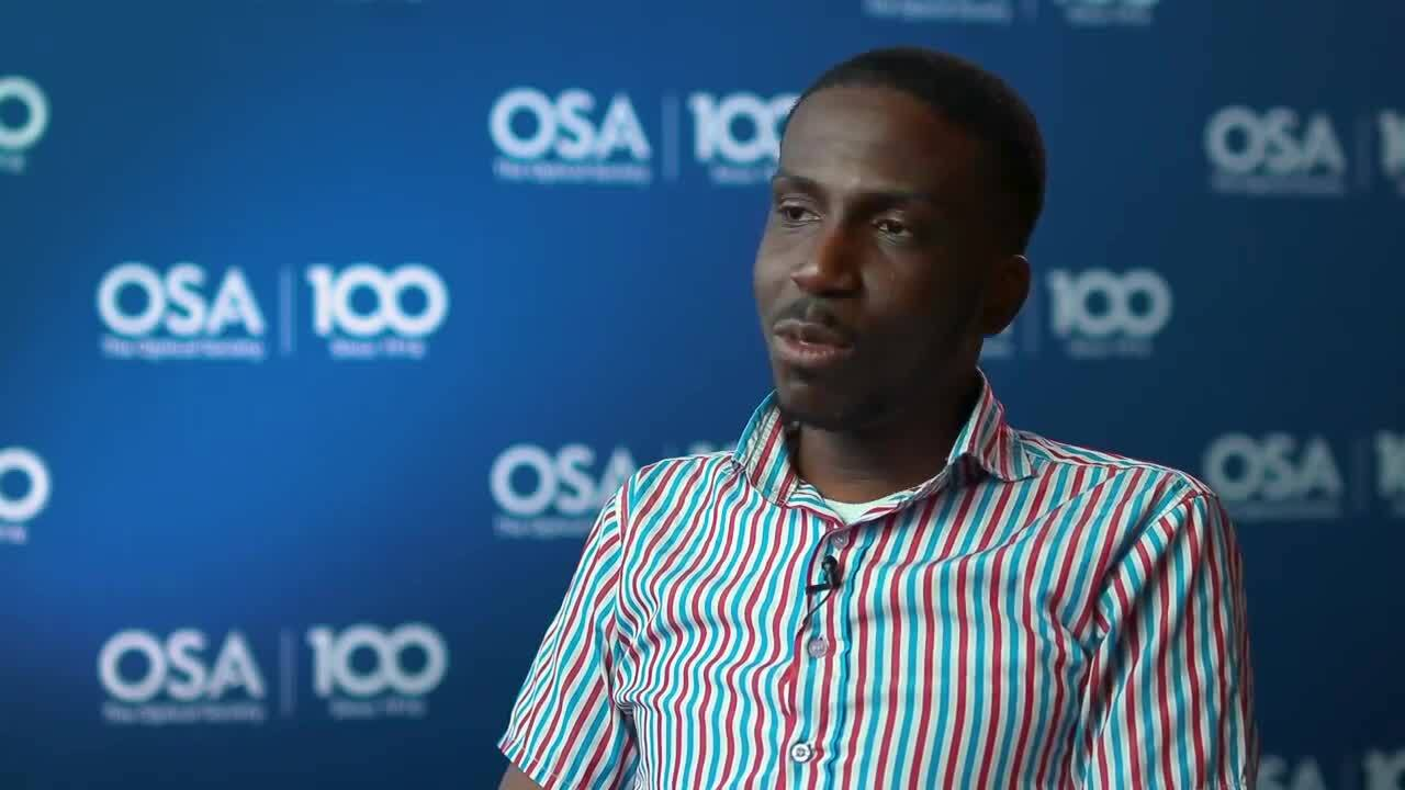 Timothy Imogore discusses OSA--OSA Stories
