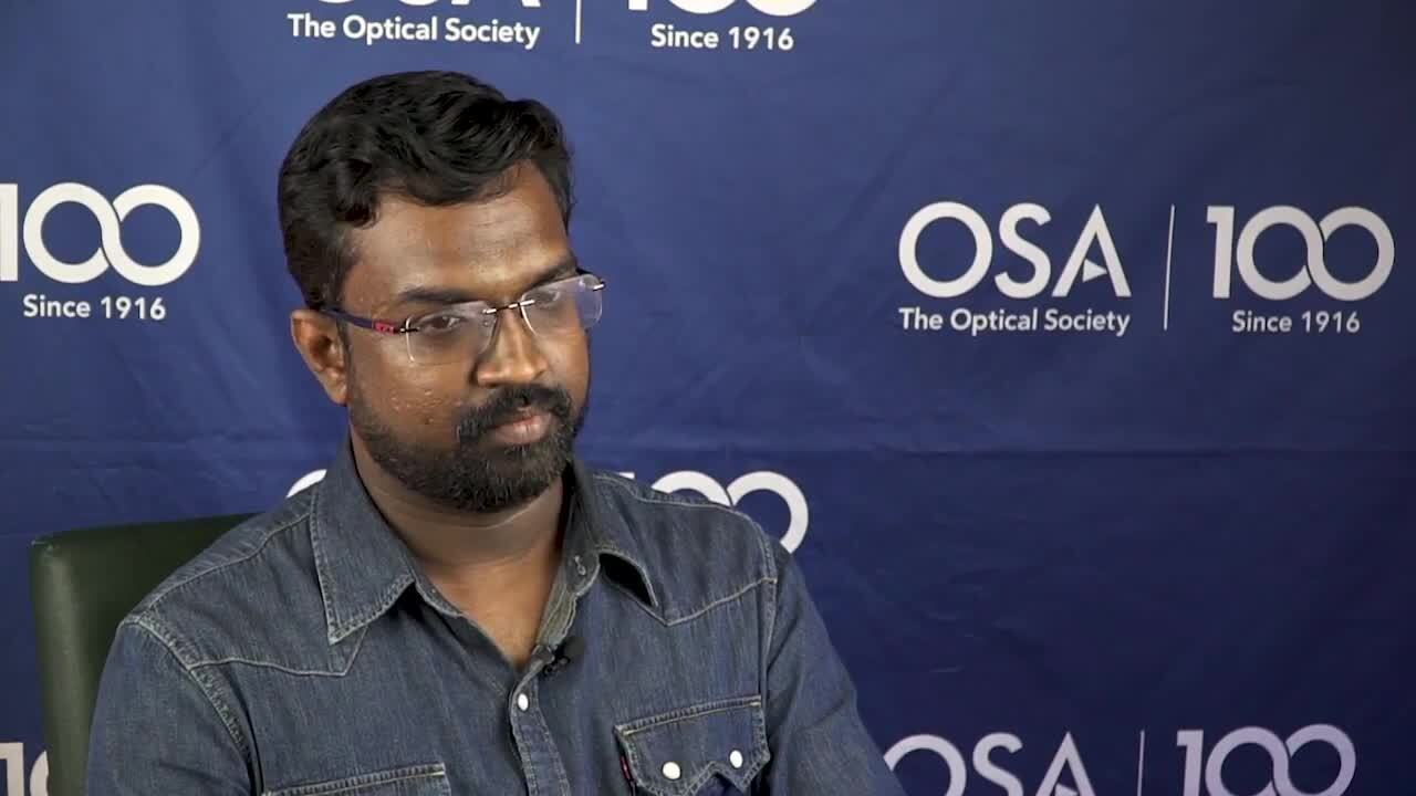Rohit K R talks about being an OSA member---OSA Stories