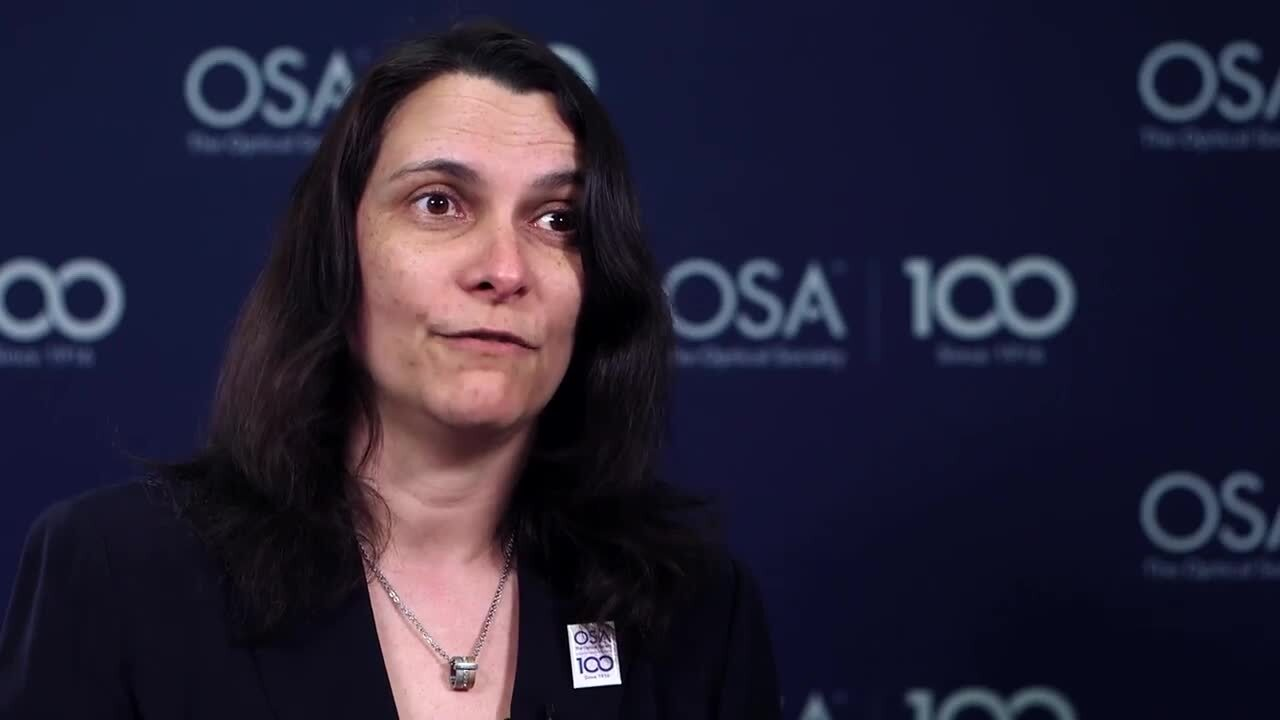 Gabriella Bosco shares her path into optics--OSA Stories