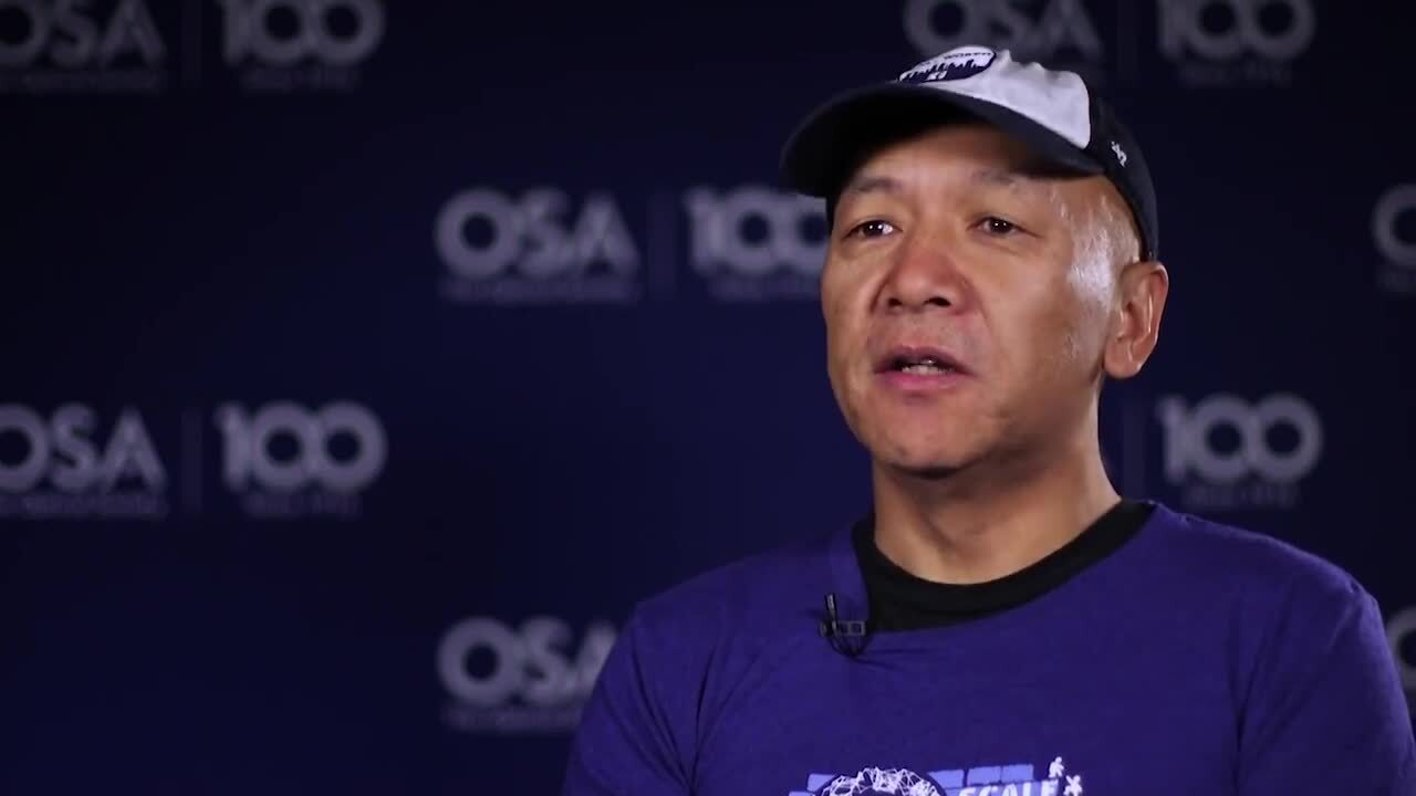 Vincent Zeng shares how he was inspired to get into optics--OSA Stories