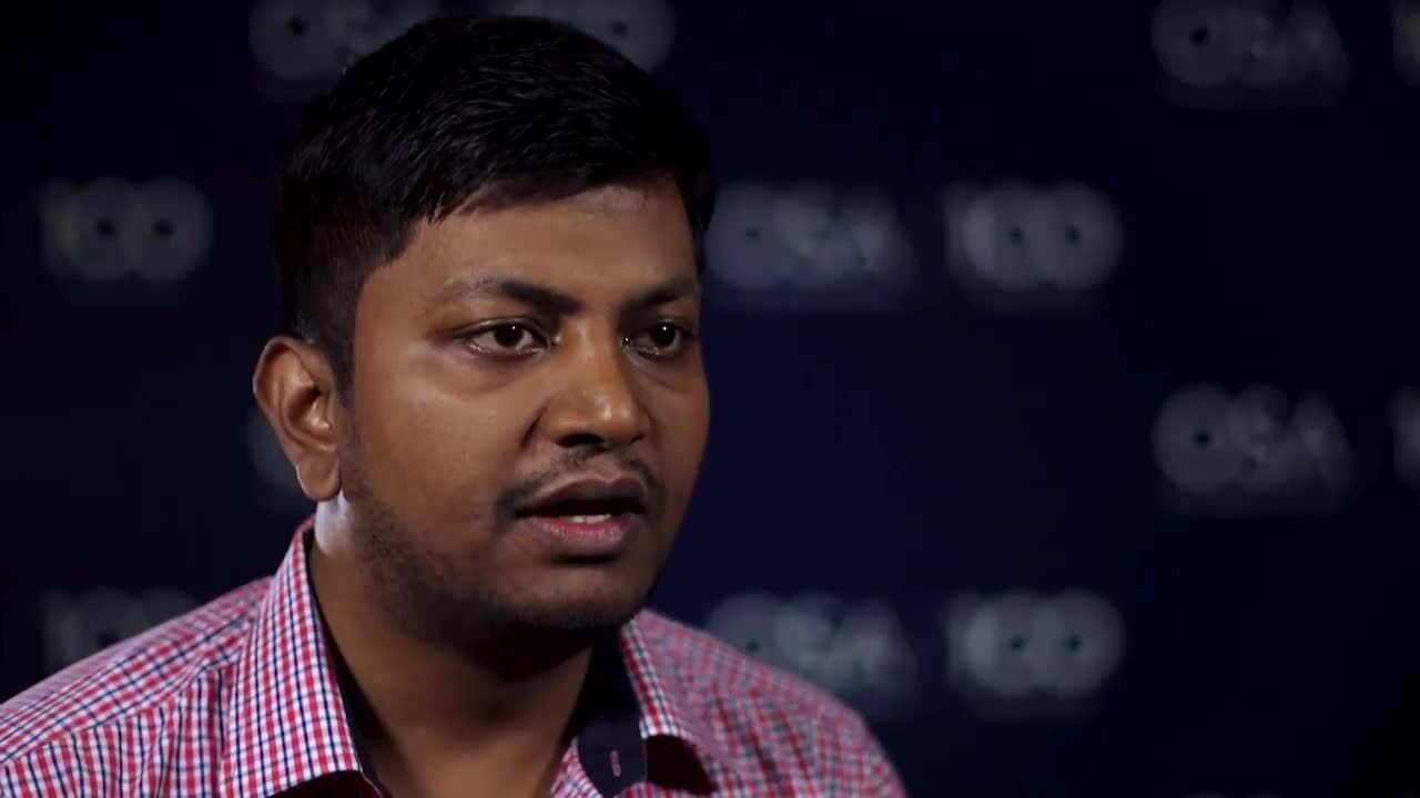 Ritu Raj Singh discusses his work in silicon photonics--OSA Stories