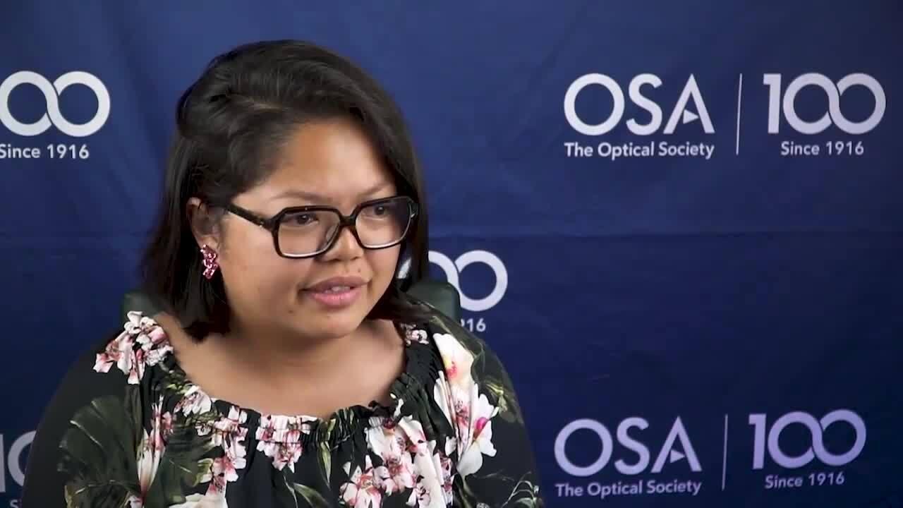 W. Y. Sarah Lau thanks the Siegman School donors--OSA Stories
