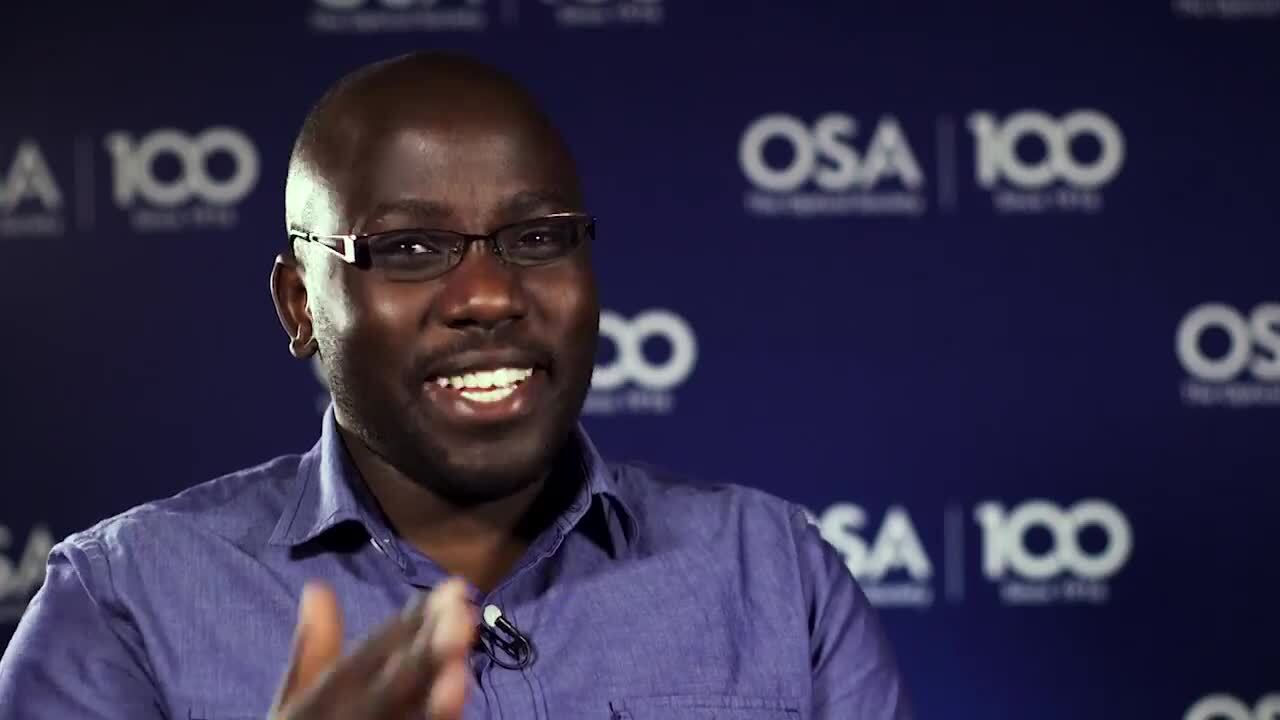 Leonard Kogos talks about why he went into optics--OSA Stories