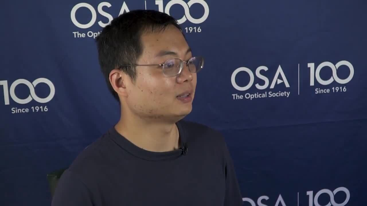 Bing Zeng encourages other students to apply to the Siegman School--OSA Stories