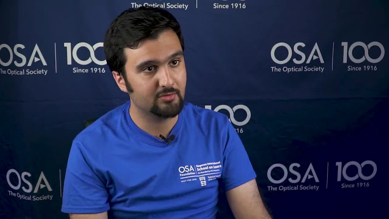 Abdullah Rahnama shares the experience he had at Siegman School--OSA Stories