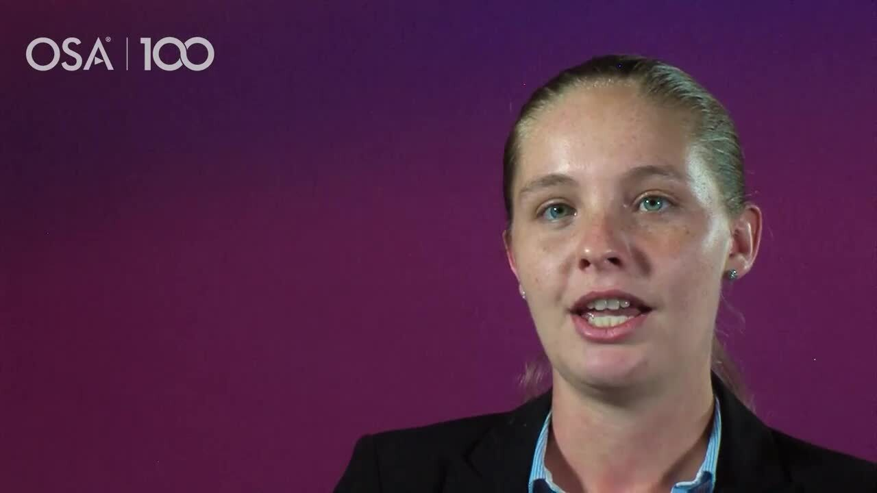 Rachel Sampson talks about why she decided to attend the Career Accelerator Program--OSA Stories