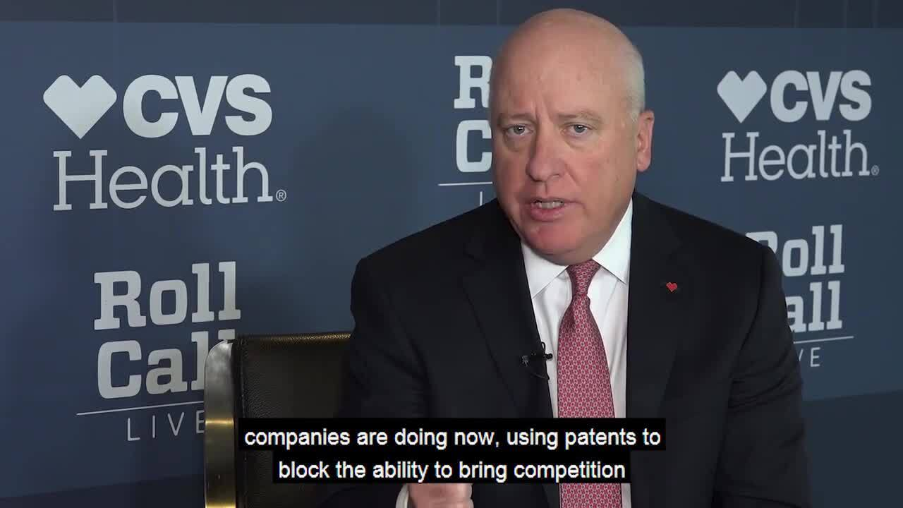 Tom Moriarty on Addressing Rising Prescription Drug Prices