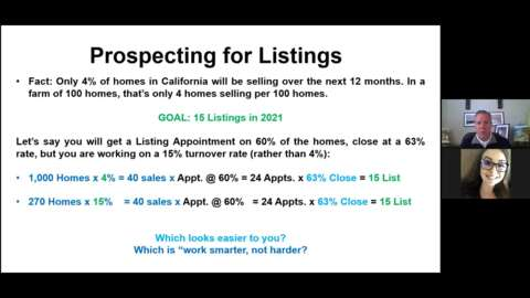 The Best Strategy for Minimizing Prospecting and Maximizing Your Listings