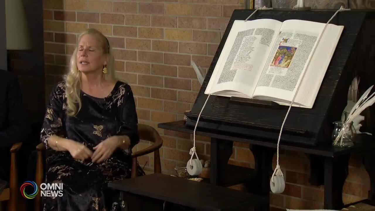 Copia anastatica della Divina Commedia a Toronto