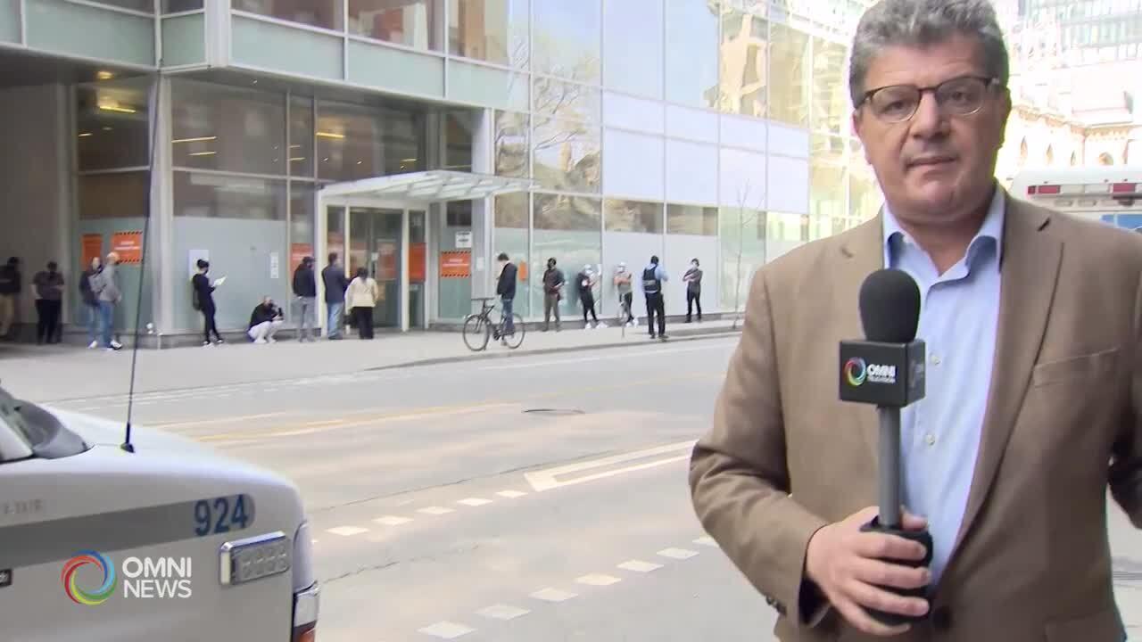 Covid-19, ospedali dell'Ontario sotto pressione