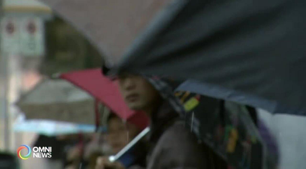 大溫地區大雨警告仍生效 (BC) –  OCT 15, 2021