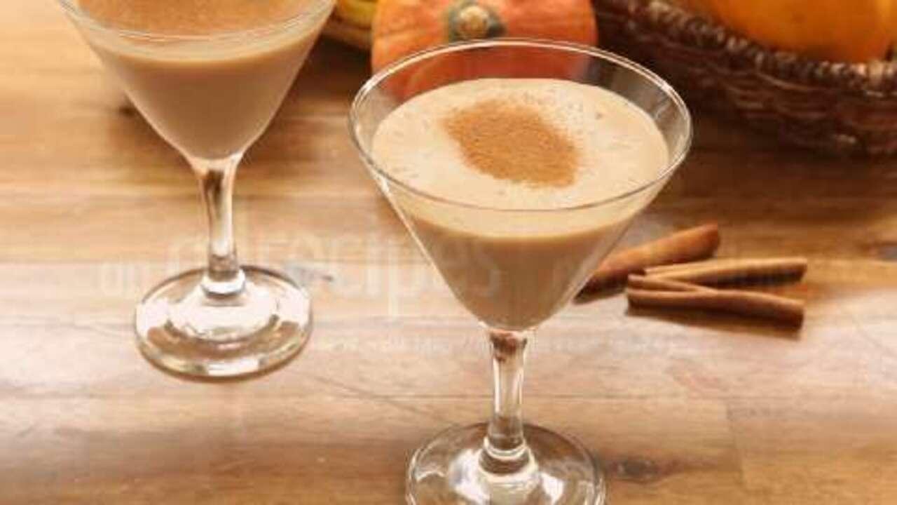 pumpkin spice martini video