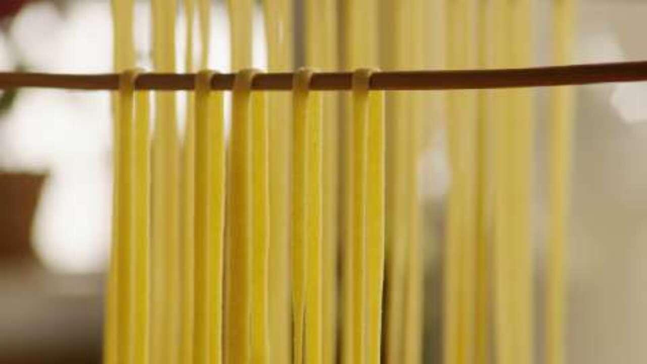 fresh semolina and egg pasta video
