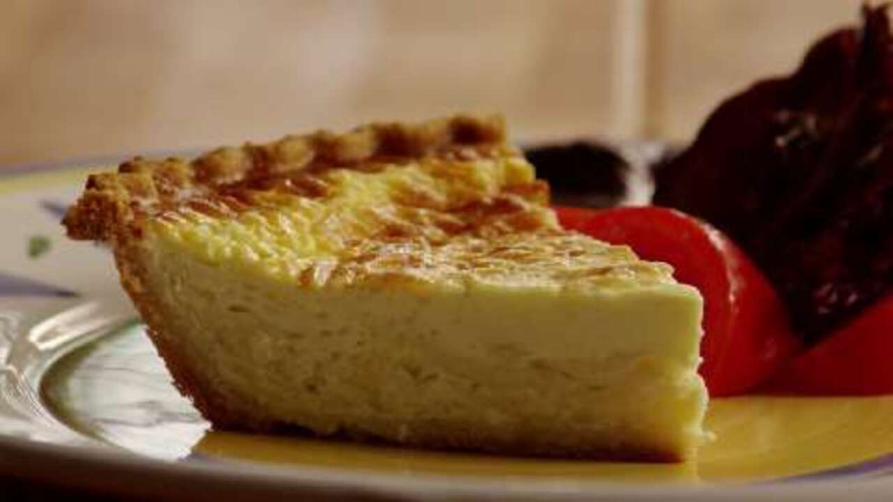 basic quiche by shelly video