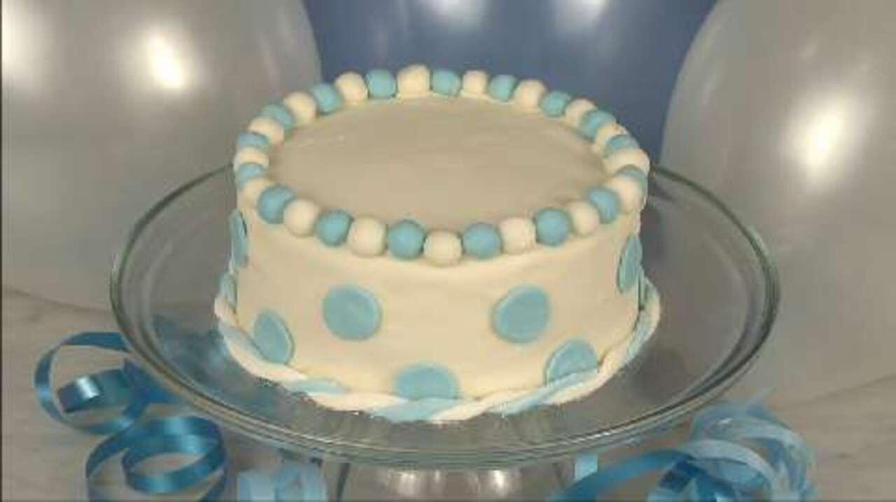 How To Decorate A Cake With Fondant Video Allrecipes Com