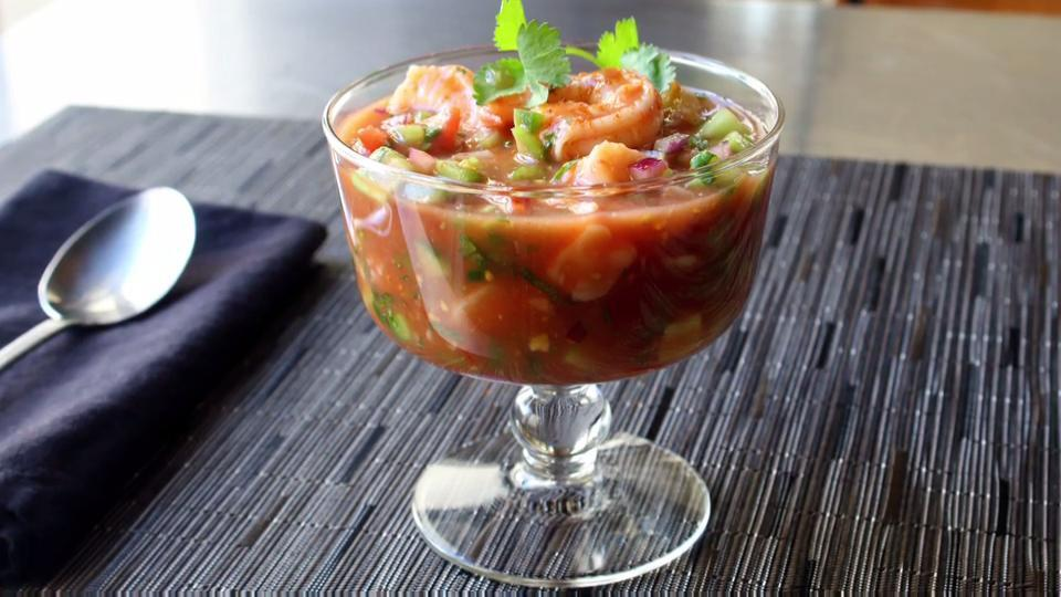 Chef John S Mexican Shrimp Cocktail Video Allrecipes Com