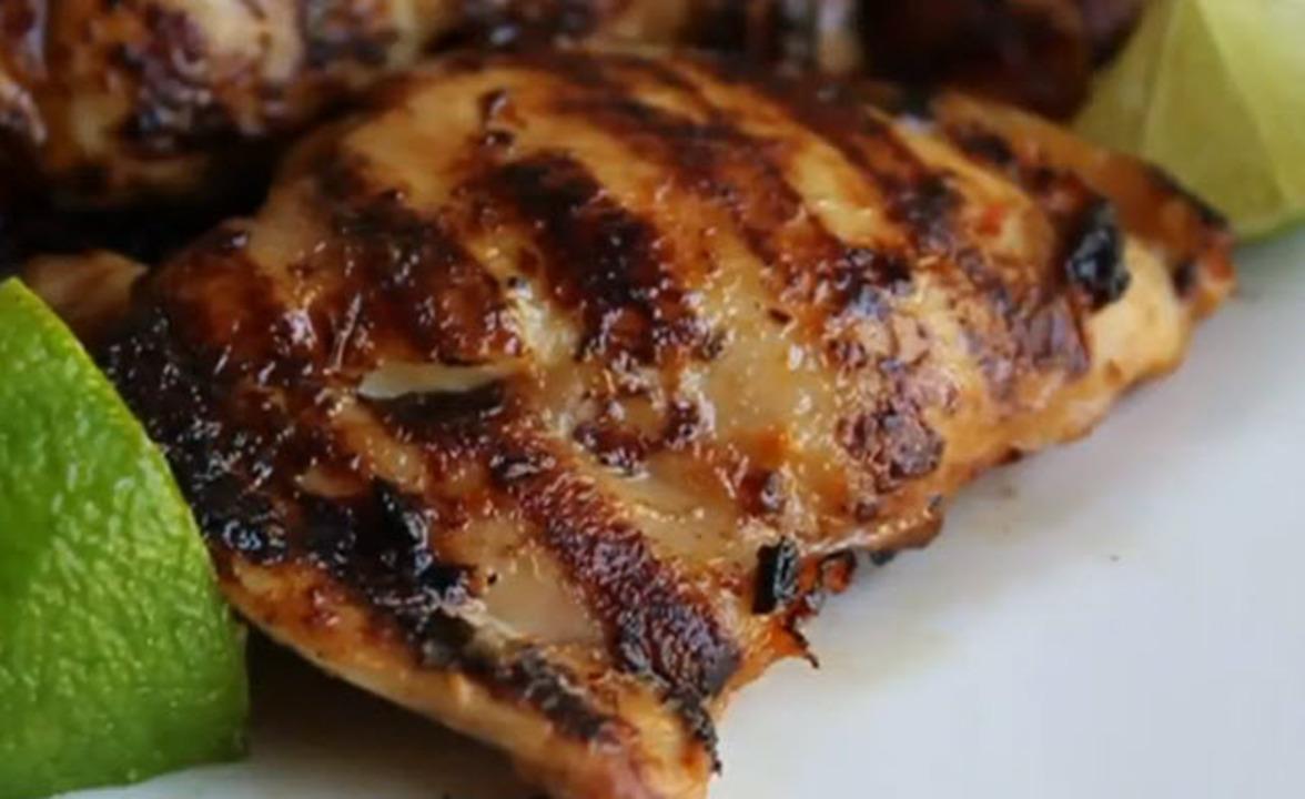 rusty chicken thighs video