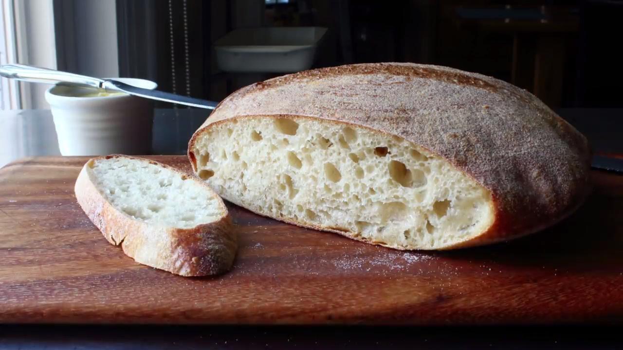 chef johns sourdough bread video