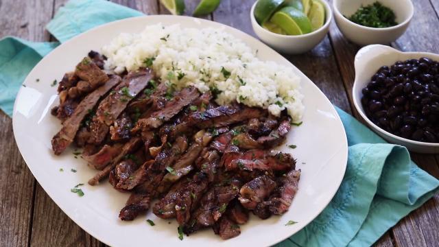Cuban Marinated Steak Video