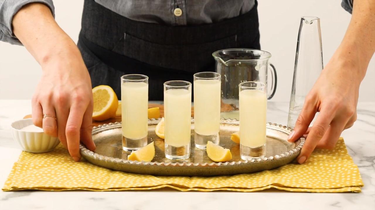 lemon drop shots video