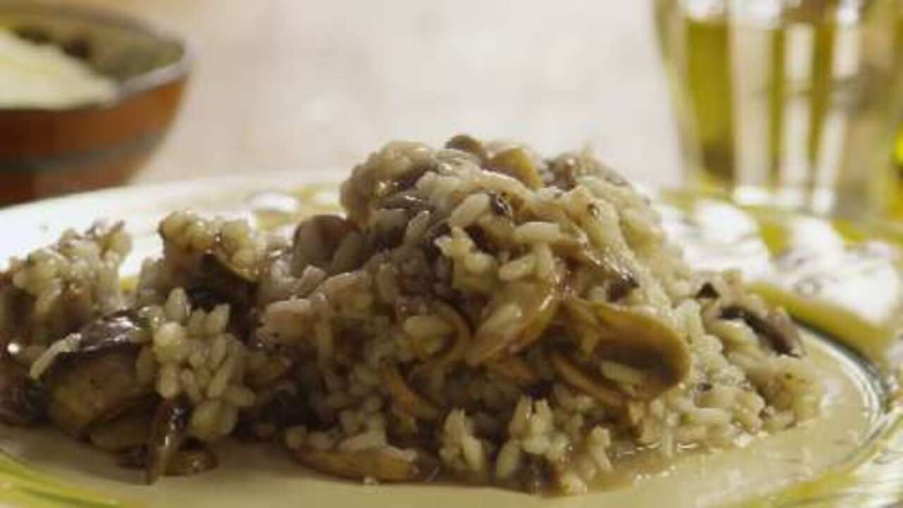 Gourmet Mushroom Risotto Video