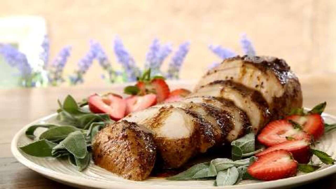 Balsamic Roasted Pork Loin Recipe - Allrecipes com