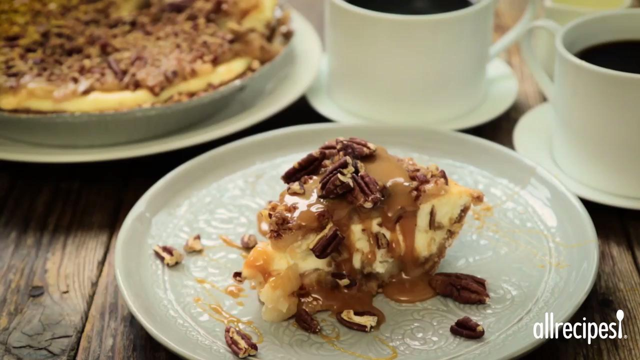carmel apple cheesecake video