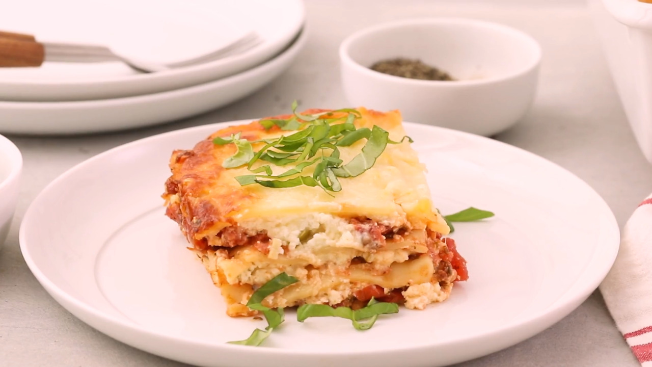 grandmas best ever sour cream lasagna video