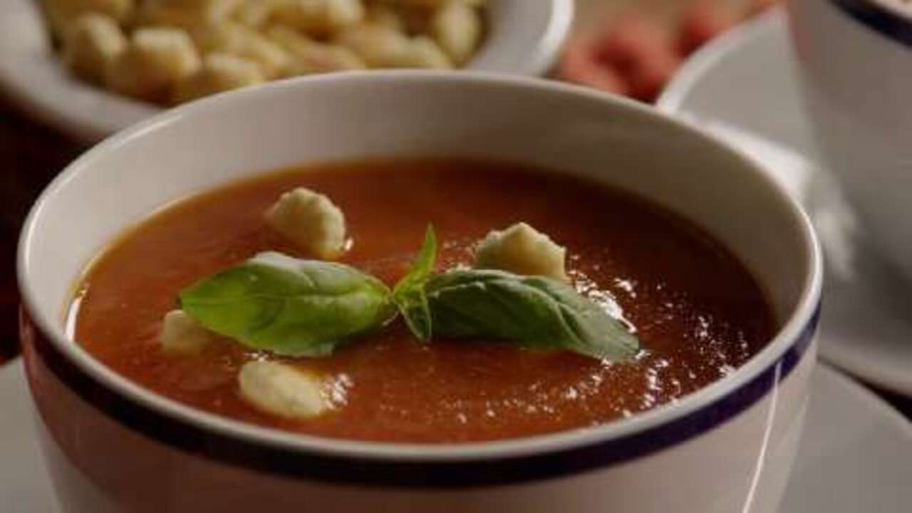 Garden Fresh Tomato Soup Video