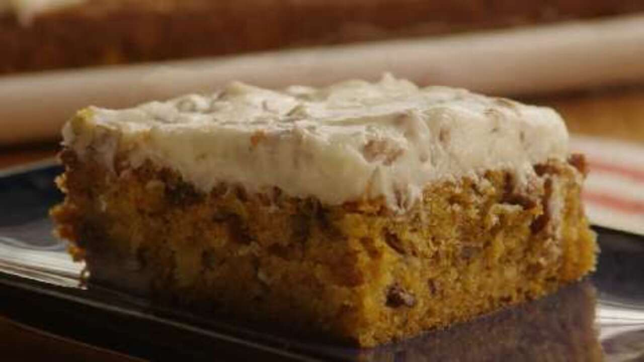 Awesome Carrot Cake with Cream Cheese Frosting Video